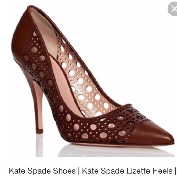 07665f475fc kate spade Shoes - Late Spade Lizette pumps